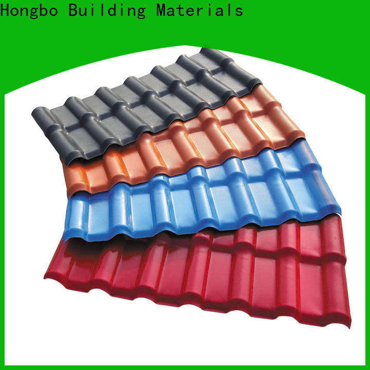 Redwave inexpensive plastic roofing sheets with cheap price for ocean hall