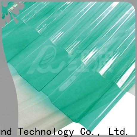 Redwave eco-friendly plexiglass sheets certifications for housing