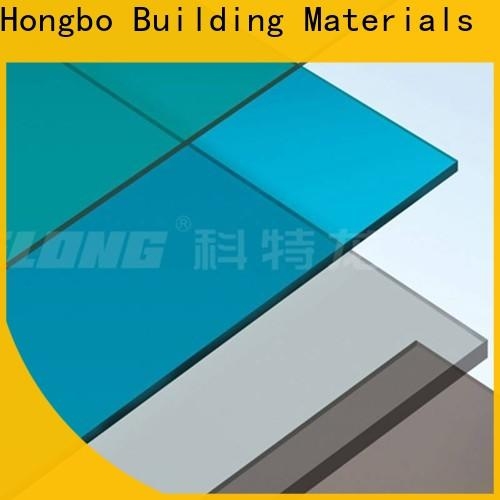 Redwave wholesale clear polycarbonate sheet certifications for factory