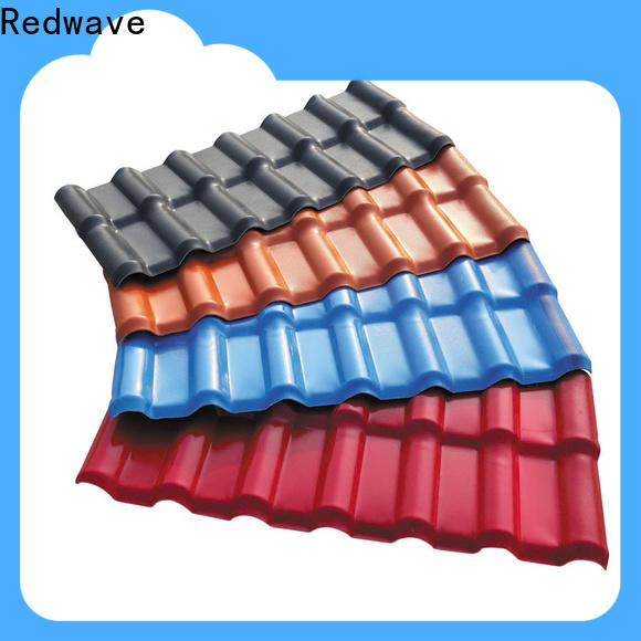 Redwave lasting corrugated roofing factory price for residence