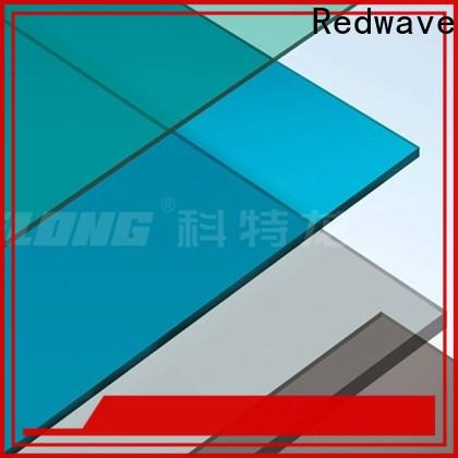 Redwave striped polycarbonate panels inquire now for scenic buildings