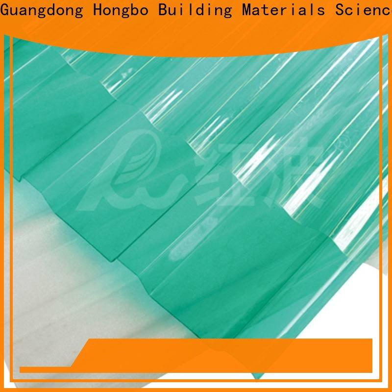Redwave corrugated plexiglass sheets with good price for residence
