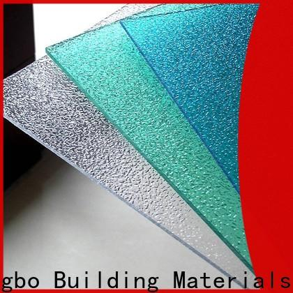Redwave durable polycarbonate roofing sheets with certification for housing