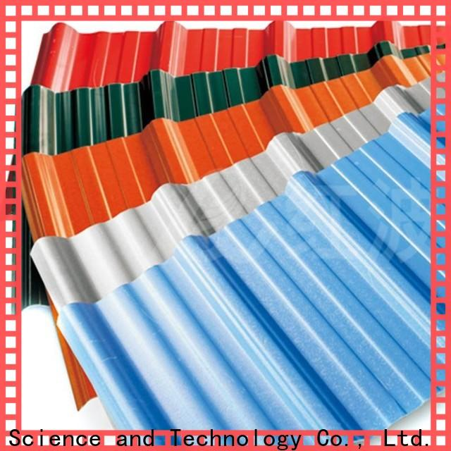 Redwave long pvc roofing sheet inquire now for ocean hall