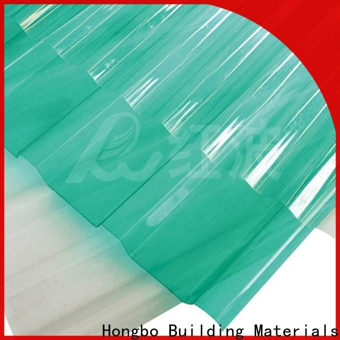 Redwave superior polycarbonate panels certifications for ocean hall