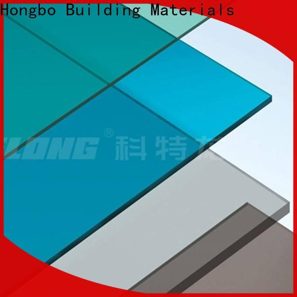 Redwave matte polycarbonate roofing sheets with good price for residence