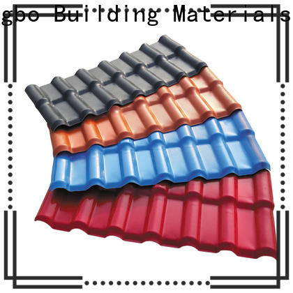eco-friendly plastic roofing sheets synthetic inquire now for ocean hall