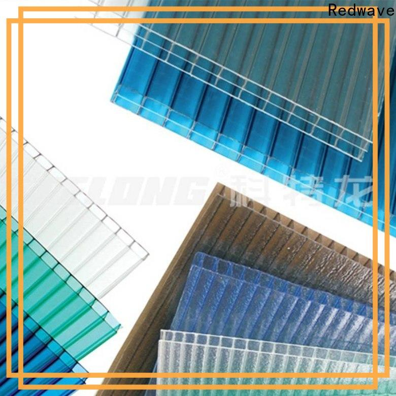 Redwave polycarbonate polycarbonate roofing sheets with good price for factory