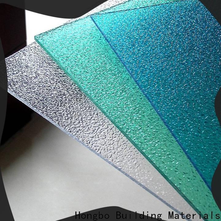 affordable polycarbonate sheet matte in bulk for housing