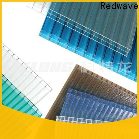 Redwave raindrop polycarbonate sheet factory price for factory