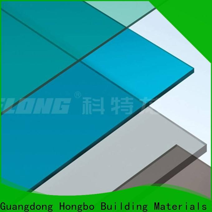 strong clear polycarbonate sheet sheet with certification for scenic buildings