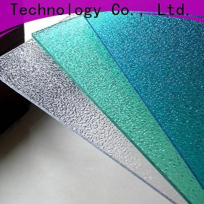 Redwave diamond clear polycarbonate sheet certifications for factory