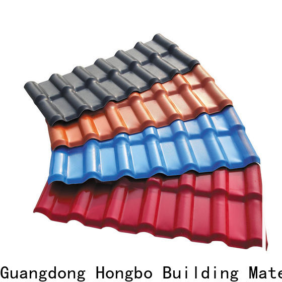 Redwave lasting plastic roofing sheets with certification for scenic shed