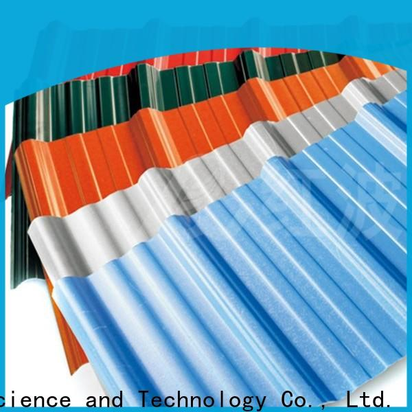 Redwave stable pvc roofing sheet inquire now for scenic buildings