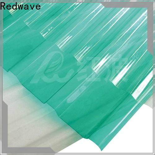 Redwave raindrop polycarbonate panels order now for ocean hall