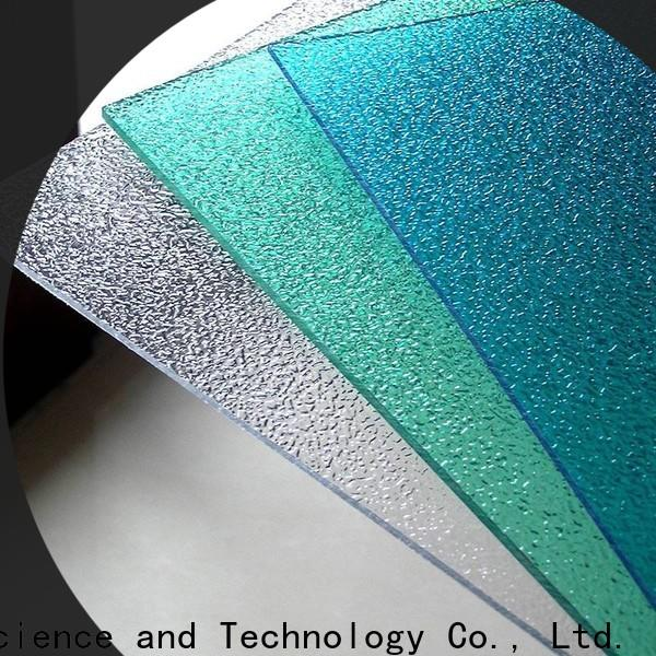 wholesale polycarbonate sheet texture in bulk for residence