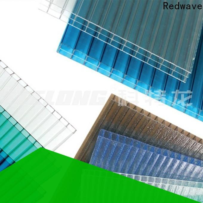 Redwave polycarbonate plexiglass sheets with certification for ocean hall