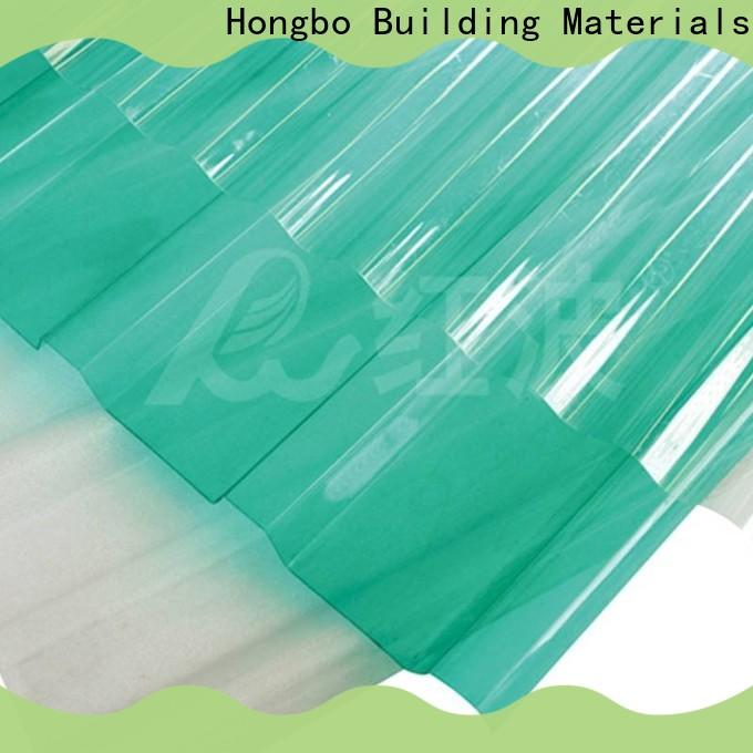 Redwave polycarbonate roof factory price for residence