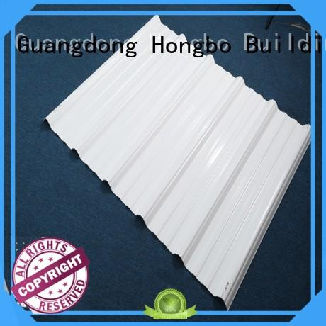 corrosion pvc roof panels heat for ocean hall Redwave