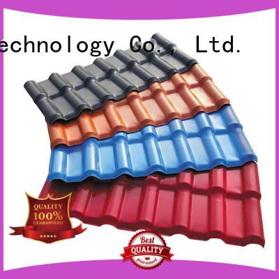 plastic spanish roof tiles resin Redwave Brand spanish tile roof