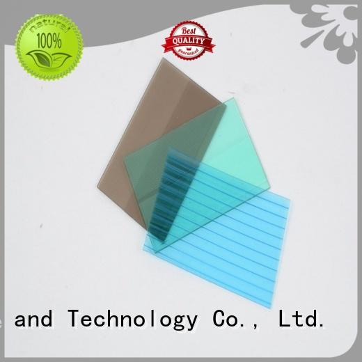 superior plexiglass sheets polycarbonate factory price for scenic shed