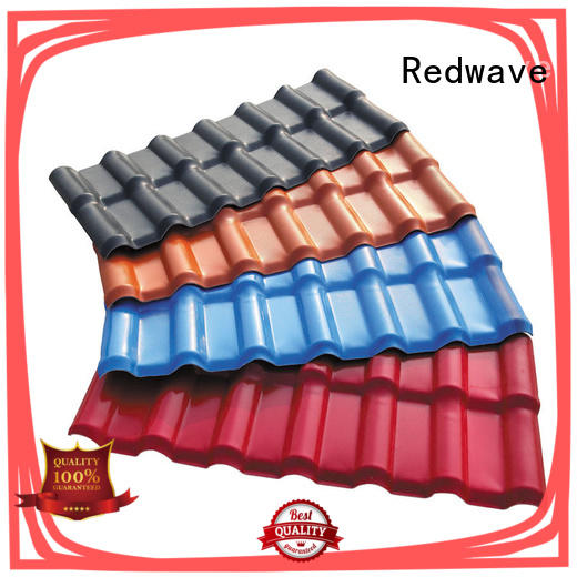 Redwave tile plastic roofing sheets free quote for scenic buildings