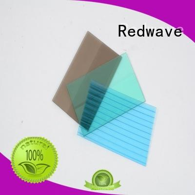 Redwave polycarbonate polycarbonate panels with certification for residence