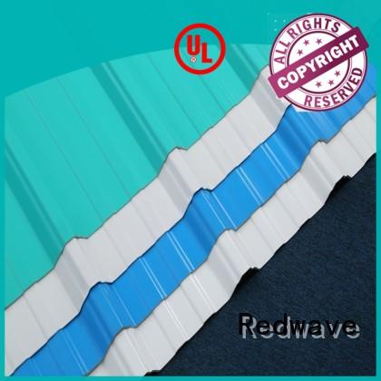 Redwave inexpensive corrugated plastic roofing sheets order now for factory