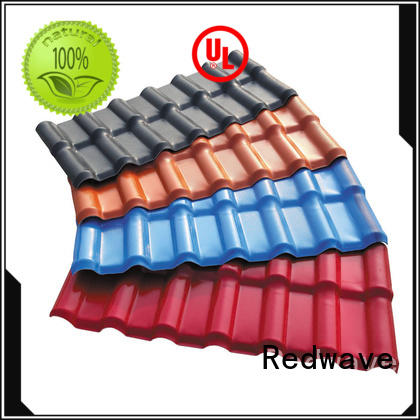 Redwave affordable corrugated roofing for scenic shed