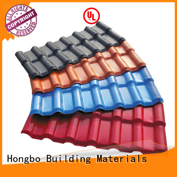Redwave Synthetic resin roof tile heat insulation , corrosion resistance, color lasting