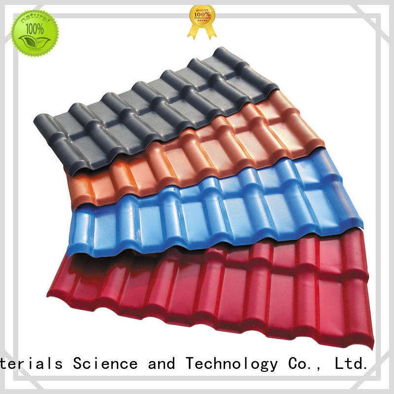 low costresin roof tiles resistance for scenic buildings