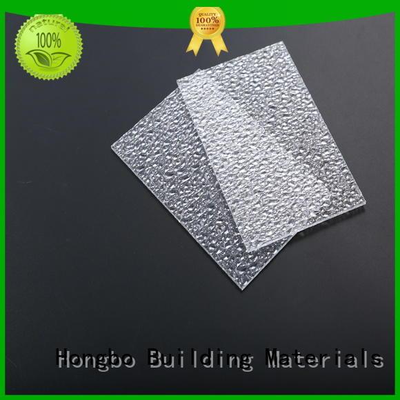 polycarbonate panels matte for residence Redwave