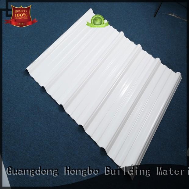 Wholesale color plastic roof tiles corrosion Redwave Brand