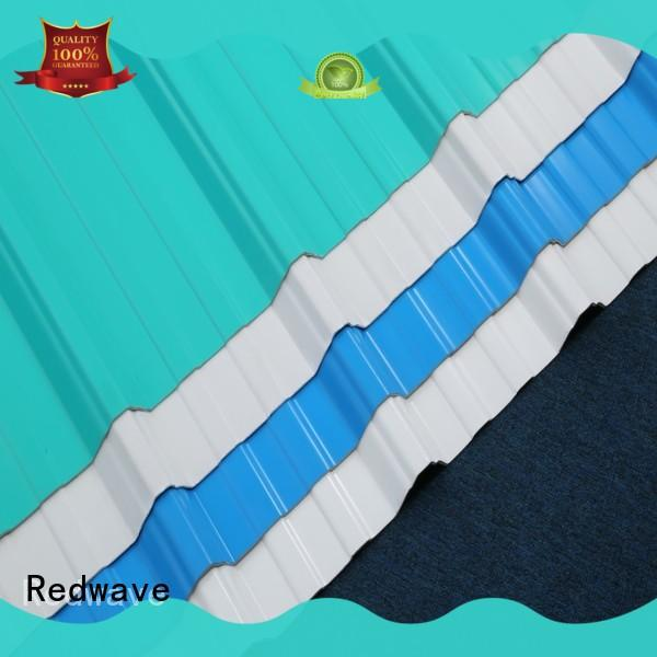 corrugated plastic roofing sheets asa for housing Redwave