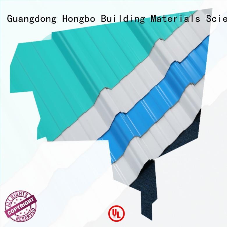Redwave UPVC roofing sheet , heat insulation , corrosion resistance, long lifetime