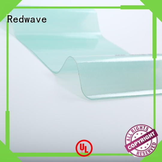 Redwave roofing frp panels with certification for housing