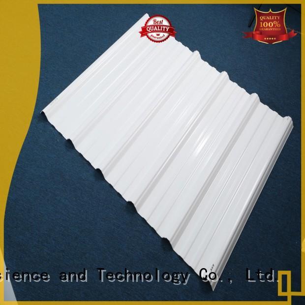 roofing oem Redwave Brand plastic roof tiles