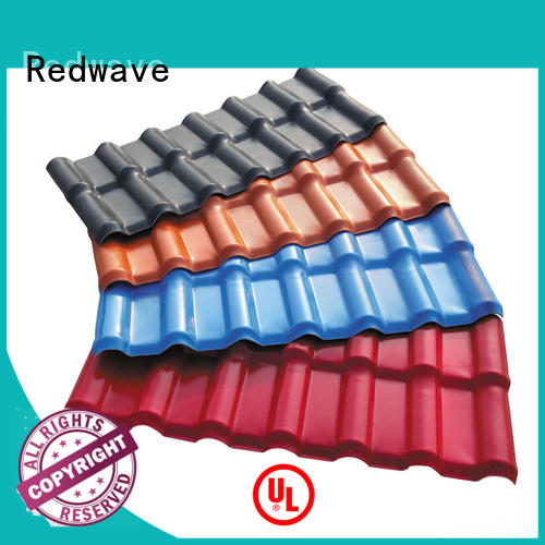 Redwave heat roofing resin with certification for residence