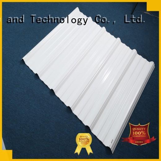 Redwave color corrugated plastic sheets for-sale for ocean hall