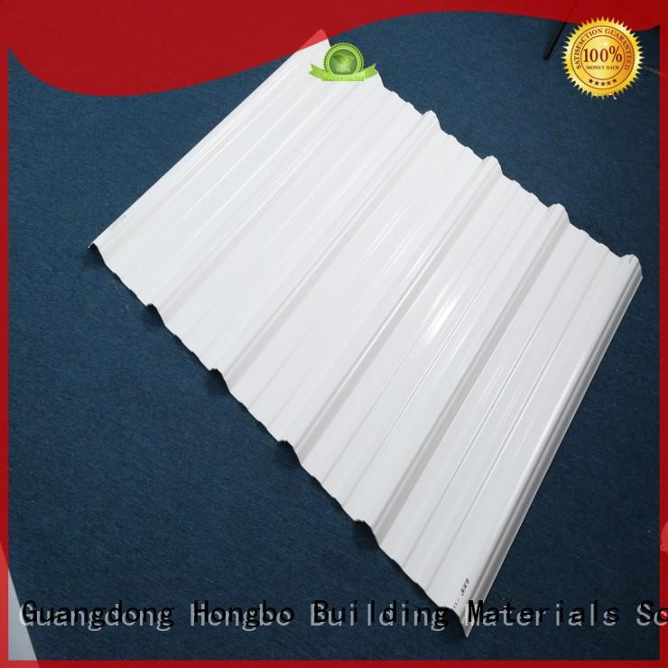 plastic roof tiles roofing sheet pvc roofing sheets Redwave Brand