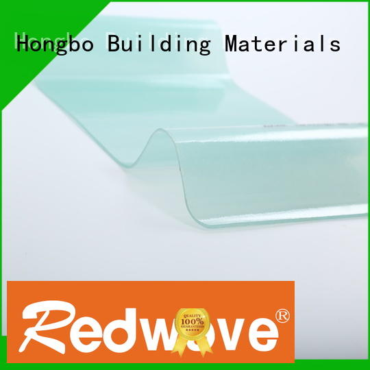 Redwave sheet frp wall panels in bulk for scenic buildings