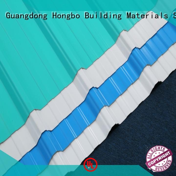 resistance high quality plastic roof tiles insulation lifetime Redwave Brand