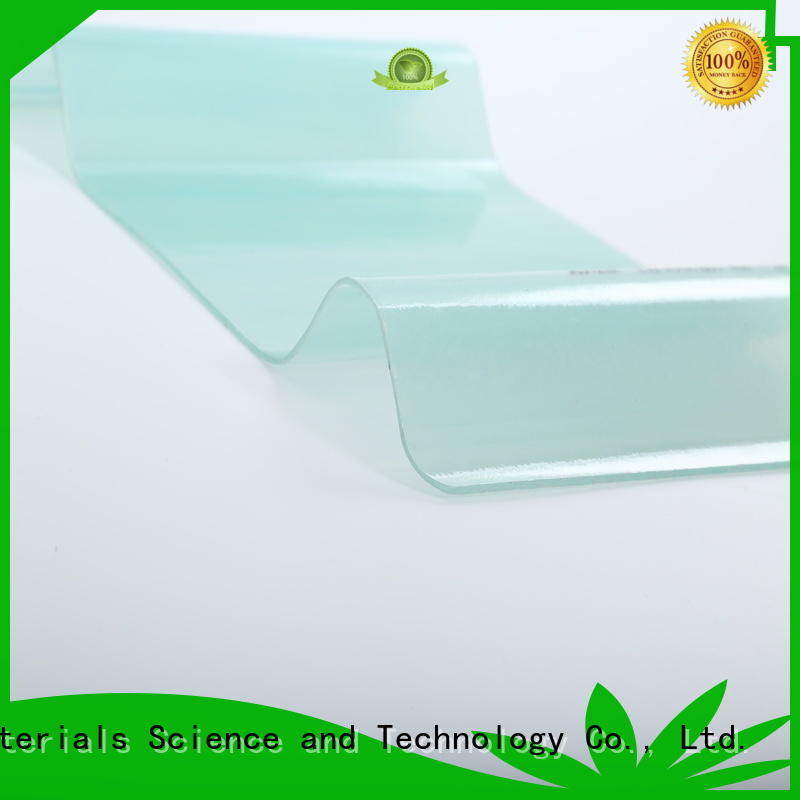 Redwave transparent frp sheet with certification for housing