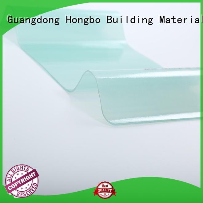 Wholesale translucent corrugated fiberglass roofing panels customized Redwave Brand