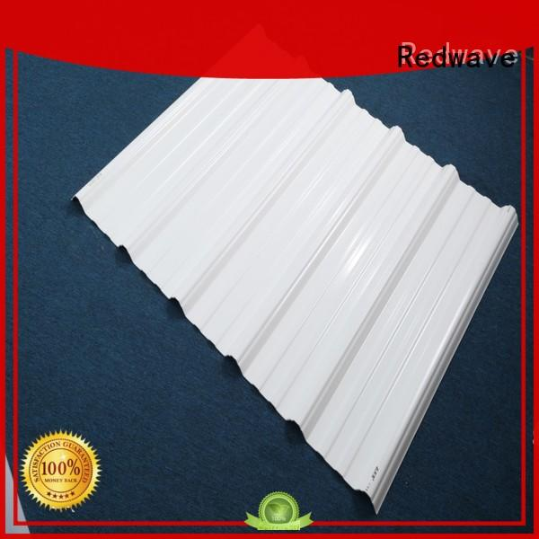 Redwave corrosion roofing sheets from China for ocean hall