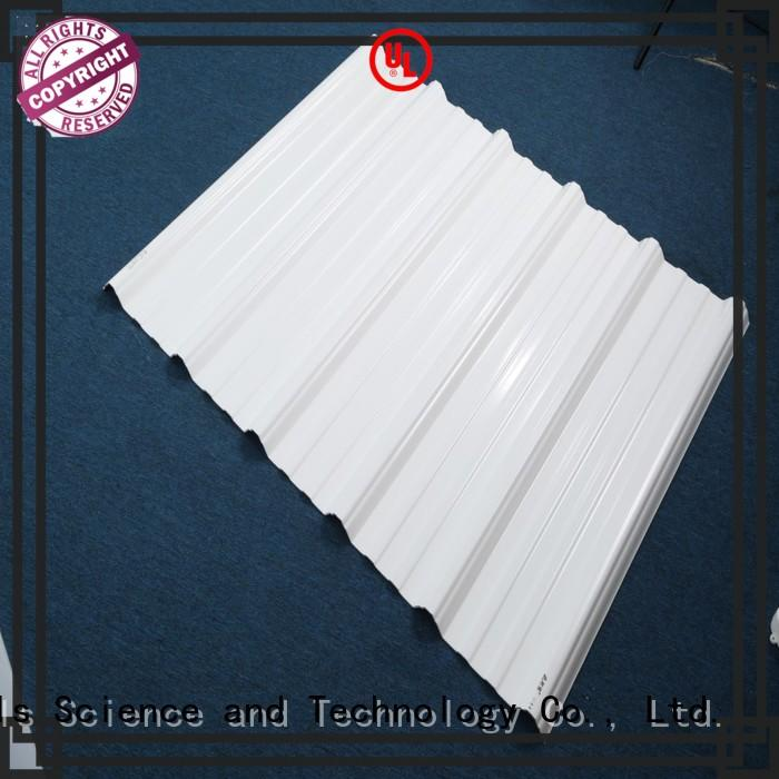 high quality corrugated plastic roofing heat order now for scenic buildings