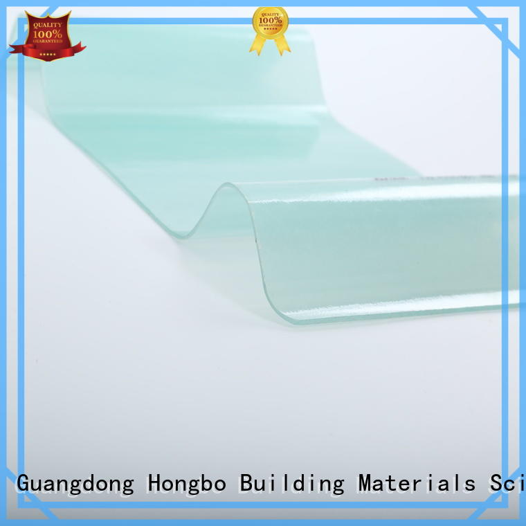 Hot clear corrugated fiberglass roofing panels transparent Redwave Brand