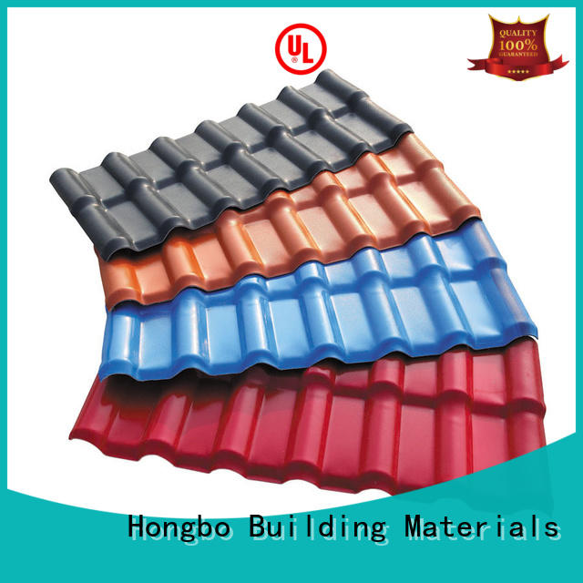 resin roof tiles insulation for residence Redwave
