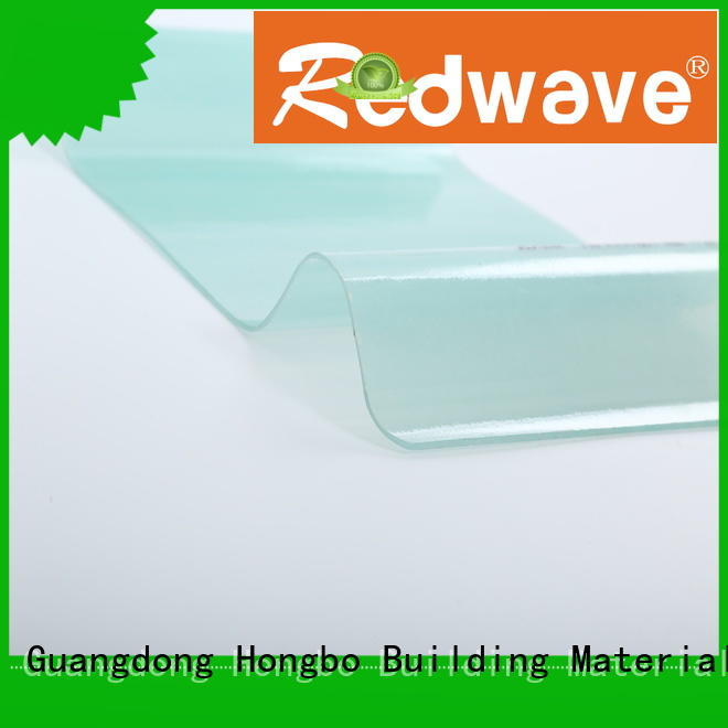 Redwave roofing frp wall panels factory price for residence