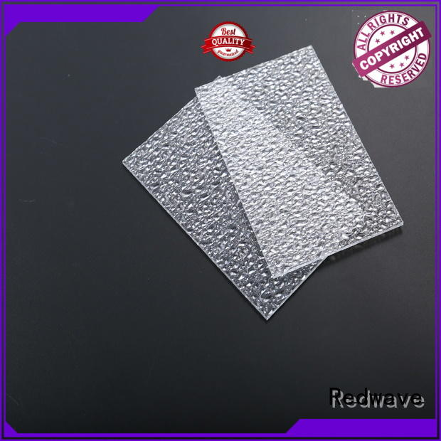 Redwave inexpensive polycarbonate sheet price solid for factory